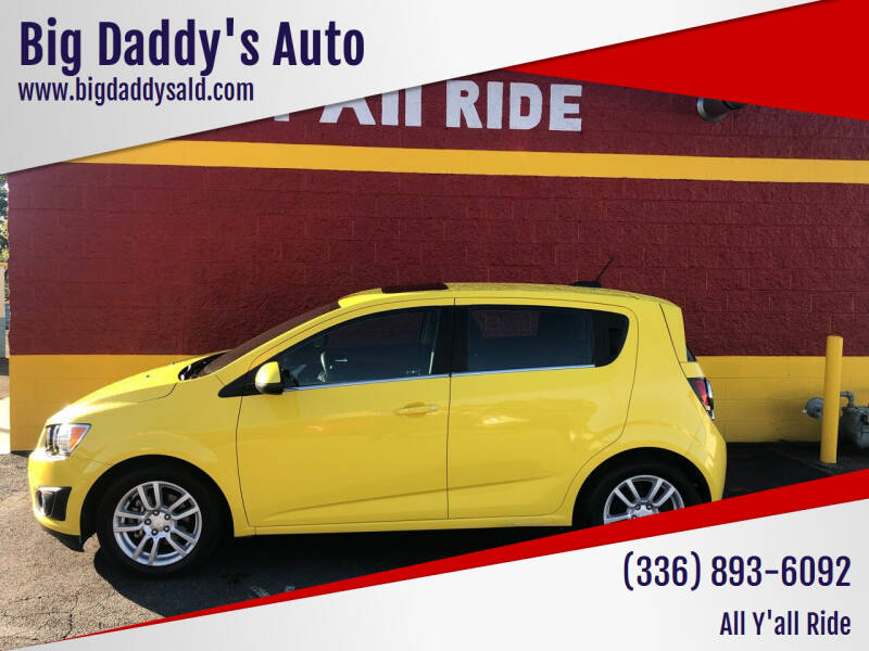 2016 Chevrolet Sonic for sale at Big Daddy's Auto in Winston-Salem NC