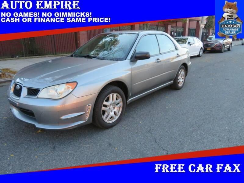 2007 Subaru Impreza for sale at Auto Empire in Brooklyn NY