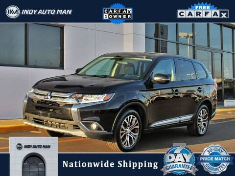 2017 Mitsubishi Outlander for sale at INDY AUTO MAN in Indianapolis IN