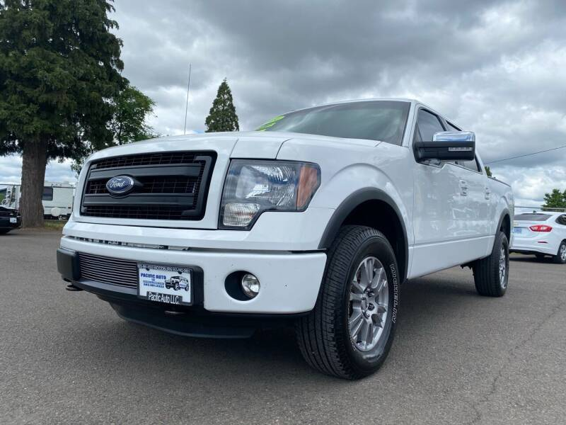2014 Ford F-150 for sale at Pacific Auto LLC in Woodburn OR