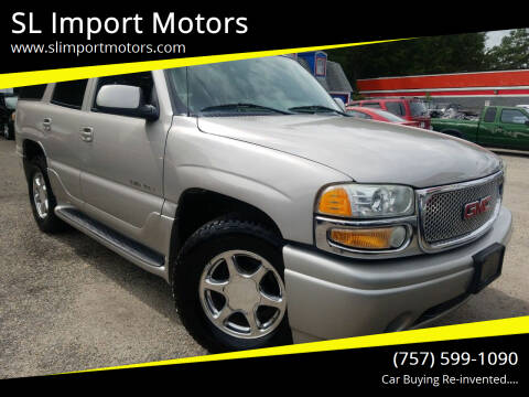 2004 GMC Yukon for sale at SL Import Motors in Newport News VA