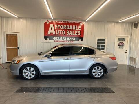 2008 Honda Accord for sale at Affordable Auto Sales in Humphrey NE