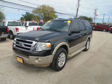 2010 Ford Expedition for sale at BAS MOTORS in Houston TX