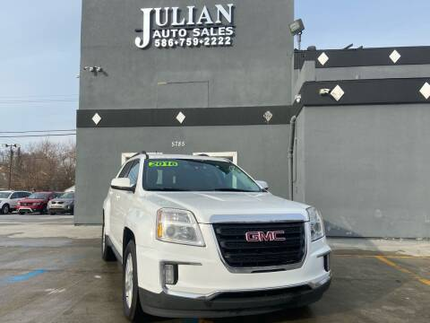 2016 GMC Terrain for sale at Julian Auto Sales, Inc. in Warren MI