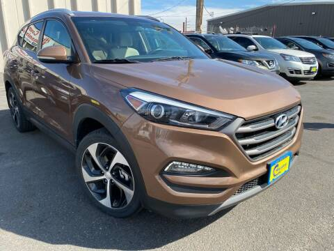 2016 Hyundai Tucson for sale at New Wave Auto Brokers & Sales in Denver CO