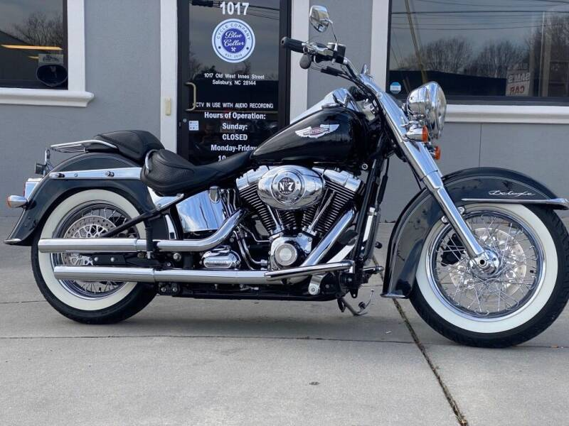 2010 Harley-Davidson FLSTN Softail Deluxe for sale at Blue Collar Cycle Company in Salisbury NC