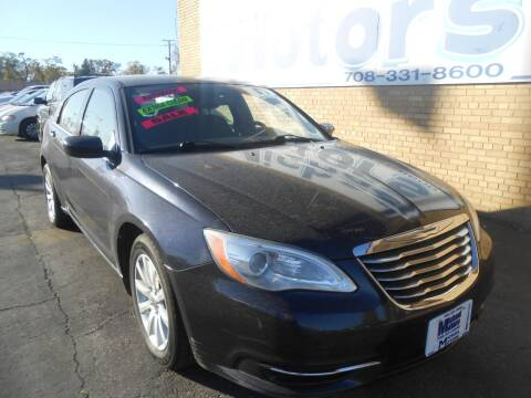 2012 Chrysler 200 for sale at Michael Motors in Harvey IL
