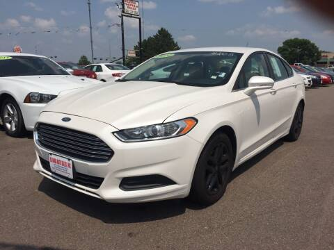2014 Ford Fusion for sale at De Anda Auto Sales in South Sioux City NE