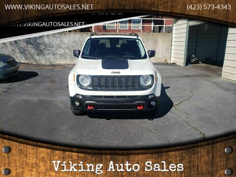 2016 Jeep Renegade for sale at Viking Auto Sales in Bristol TN