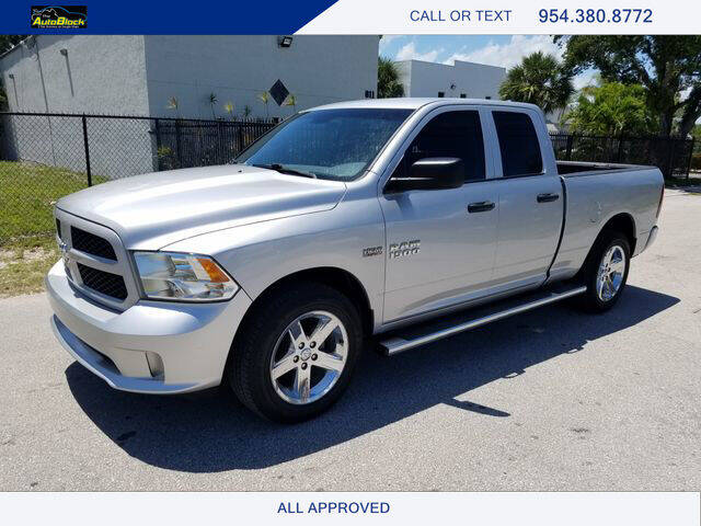 2017 RAM Ram Pickup 1500 for sale at The Autoblock in Fort Lauderdale FL