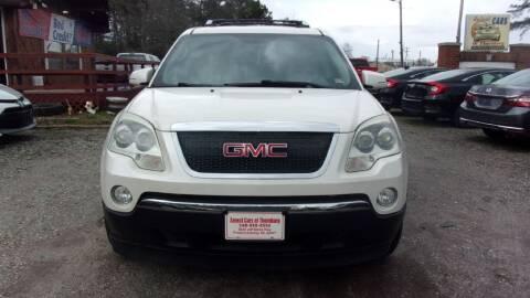 2007 GMC Acadia for sale at Select Cars Of Thornburg in Fredericksburg VA