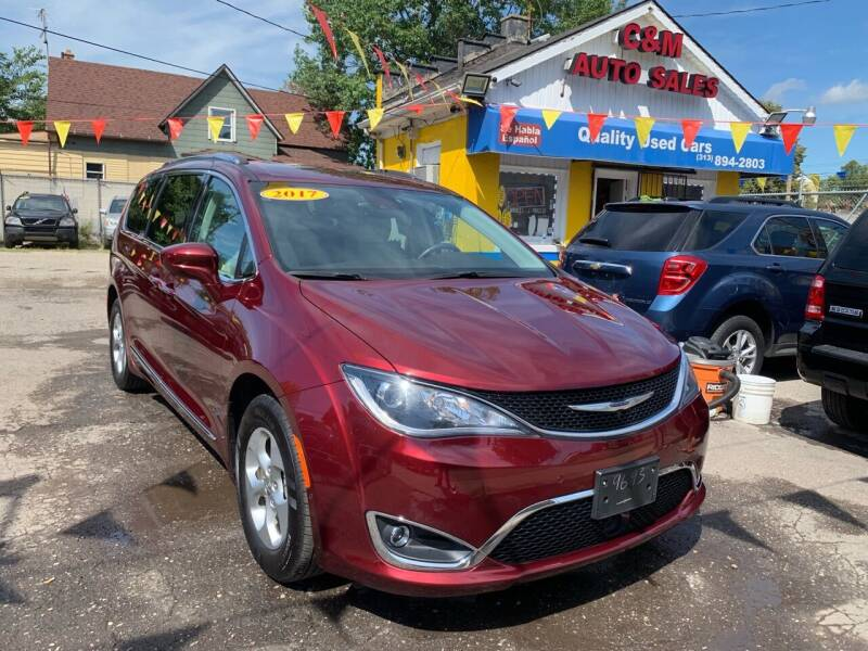 2017 Chrysler Pacifica for sale at C & M Auto Sales in Detroit MI