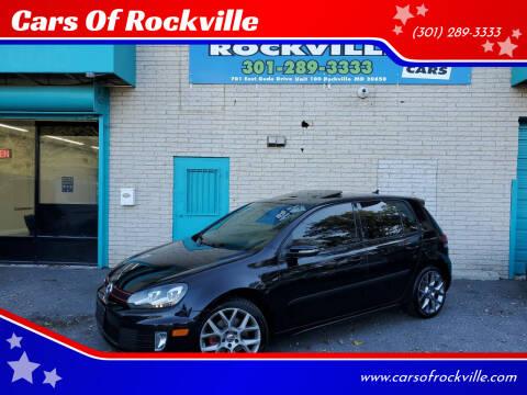 2013 Volkswagen GTI for sale at Cars Of Rockville in Rockville MD