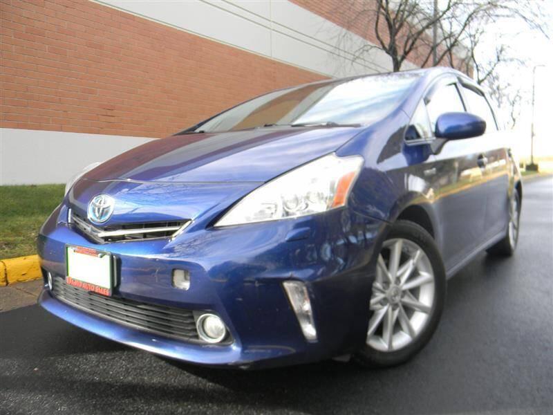 2014 Toyota Prius v for sale at Dasto Auto Sales in Manassas VA