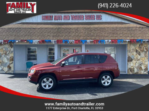 2014 Jeep Compass for sale at Family Auto and Trailer Sales LLC in Port Charlotte FL