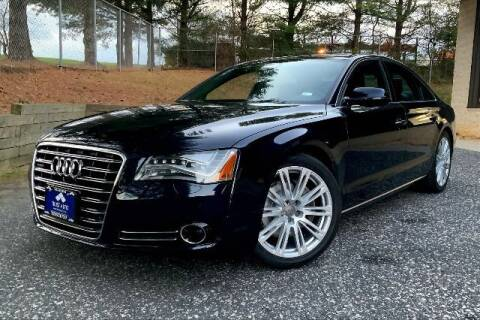 2013 Audi A8 for sale at TRUST AUTO in Sykesville MD