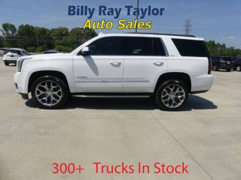 2016 GMC Yukon for sale at Billy Ray Taylor Auto Sales in Cullman AL