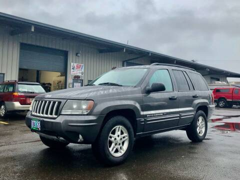 2004 Jeep Grand Cherokee for sale at DASH AUTO SALES LLC in Salem OR