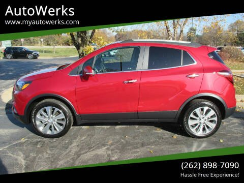 2019 Buick Encore for sale at AutoWerks in Sturtevant WI