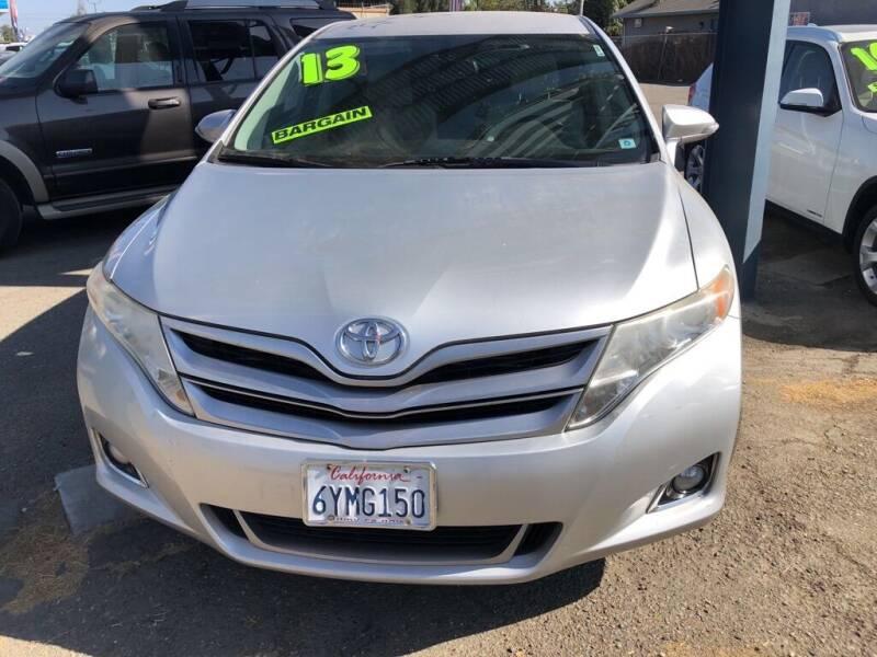2013 Toyota Venza for sale at Golden Gate Auto Sales in Stockton CA