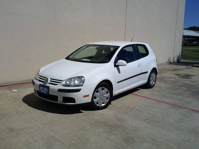 2008 Volkswagen Rabbit for sale at AUTO VALUE FINANCE INC in Stafford TX