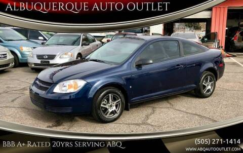 2009 Chevrolet Cobalt for sale at ALBUQUERQUE AUTO OUTLET in Albuquerque NM