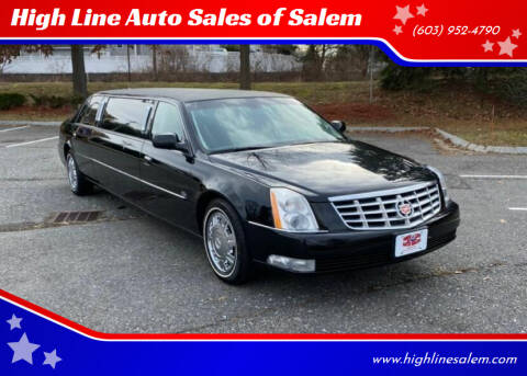 2011 Cadillac DTS Pro for sale at High Line Auto Sales of Salem in Salem NH