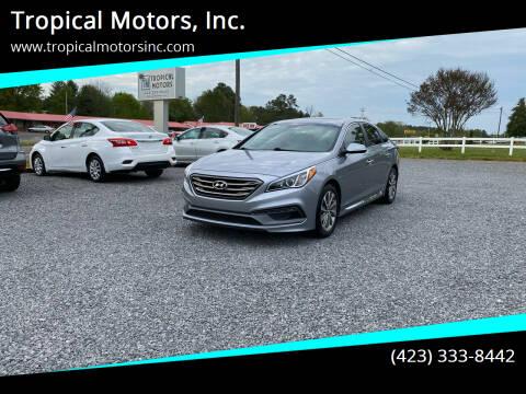 2016 Hyundai Sonata for sale at Tropical Motors, Inc. in Riceville TN