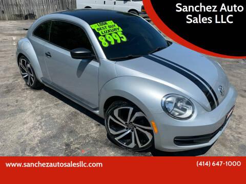 2012 Volkswagen Beetle for sale at Sanchez Auto Sales LLC in Milwaukee WI