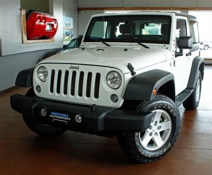2014 Jeep Wrangler for sale at Motion Auto Sport in North Canton OH