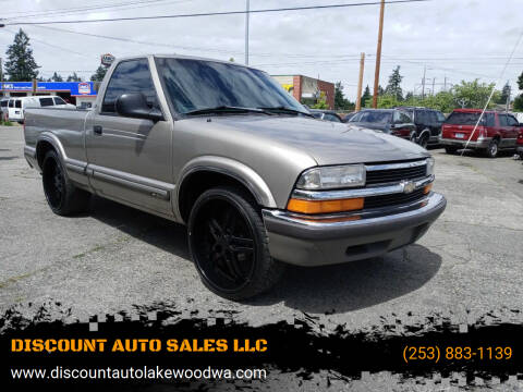 1998 Chevrolet S-10 for sale at DISCOUNT AUTO SALES LLC in Lakewood WA