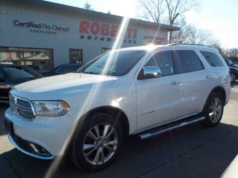 2015 Dodge Durango for sale at Roberti Automotive in Kingston NY