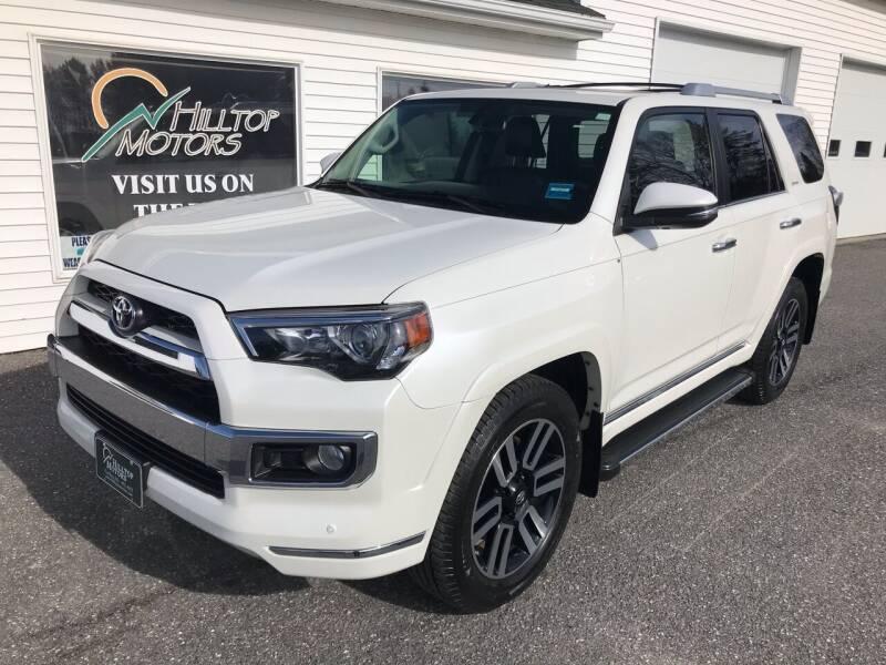 2017 Toyota 4Runner for sale at HILLTOP MOTORS INC in Caribou ME