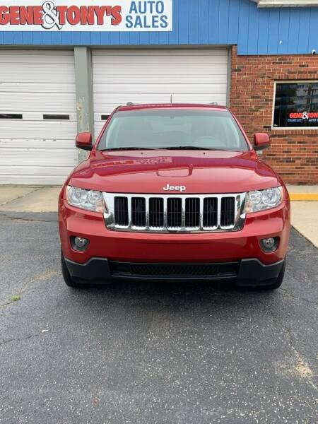 2011 Jeep Grand Cherokee for sale at GENE AND TONYS DEMOTTE AUTO SALES in Demotte IN