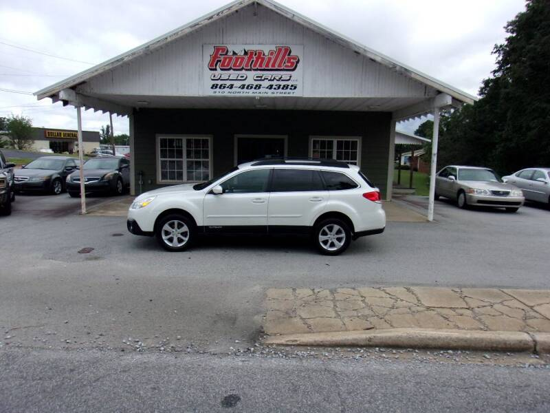 2013 Subaru Outback for sale at Foothills Used Cars LLC in Campobello SC