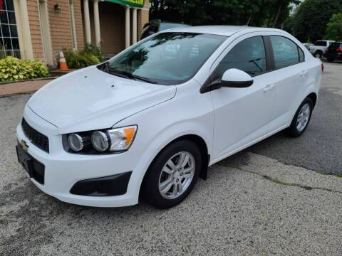 2012 Chevrolet Sonic for sale at Car and Truck Exchange, Inc. in Rowley MA