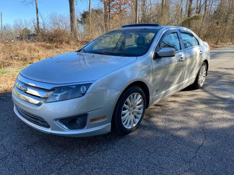 2010 Ford Fusion Hybrid for sale at Speed Auto Mall in Greensboro NC