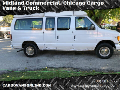 2002 Ford E-Series Cargo for sale at Midland Commercial. Chicago Cargo Vans & Truck in Bridgeview IL