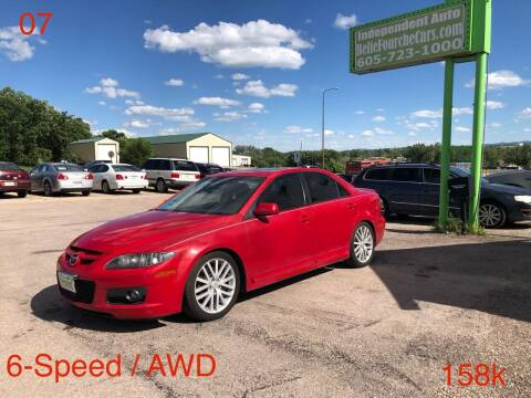 2007 Mazda MAZDASPEED6 for sale at Independent Auto in Belle Fourche SD