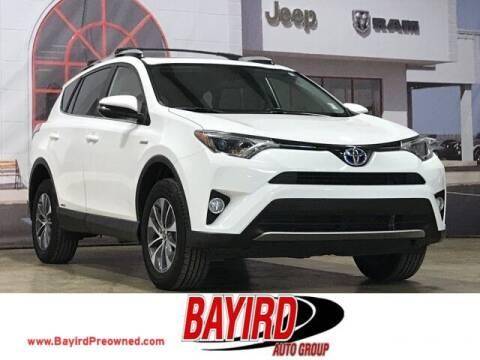 2016 Toyota RAV4 Hybrid for sale at Bayird Truck Center in Paragould AR