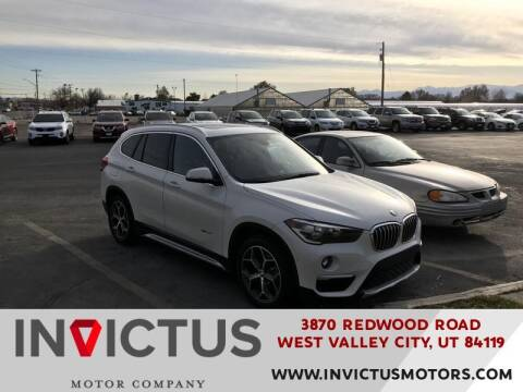 2016 BMW X1 for sale at INVICTUS MOTOR COMPANY in West Valley City UT