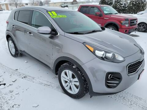 2018 Kia Sportage for sale at Cooley Auto Sales in North Liberty IA