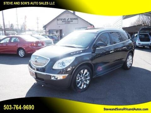 2011 Buick Enclave for sale at Steve & Sons Auto Sales in Happy Valley OR