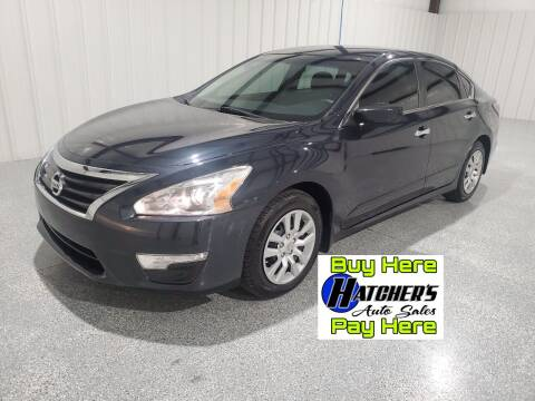 2014 Nissan Altima for sale at Hatcher's Auto Sales, LLC - Buy Here Pay Here in Campbellsville KY