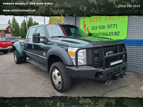 2011 Ford F-450 Super Duty for sale at Vehicle Simple @ JRS Auto Sales in Parkland WA