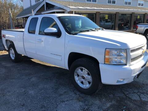 2010 Chevrolet Silverado 1500 for sale at Oxford Auto Sales in North Oxford MA