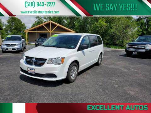 2018 Dodge Grand Caravan for sale at Excellent Autos in Amsterdam NY