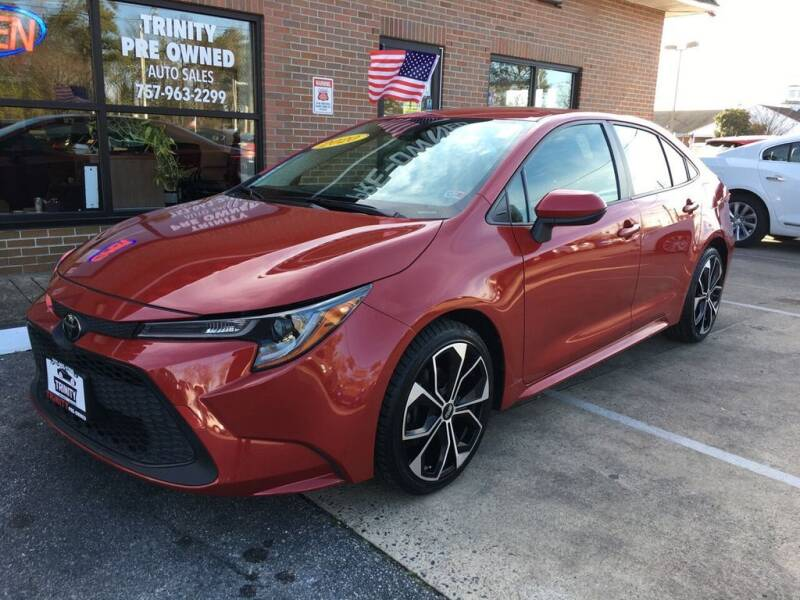 2020 Toyota Corolla for sale at Bankruptcy Car Financing in Norfolk VA
