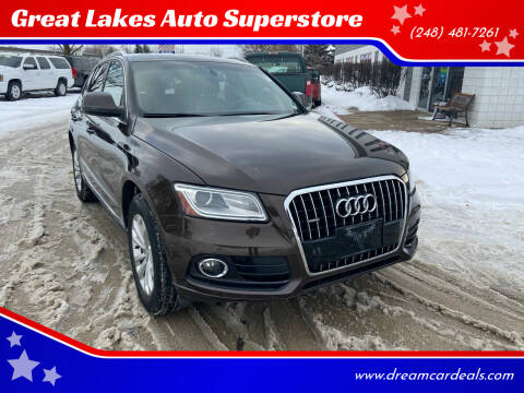 2013 Audi Q5 for sale at Great Lakes Auto Superstore in Pontiac MI