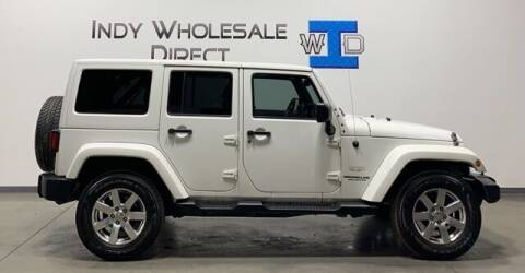 2013 Jeep Wrangler Unlimited for sale at Indy Wholesale Direct in Carmel IN